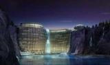 У Шанхаї будують елітний готель у занедбаному кар'єр